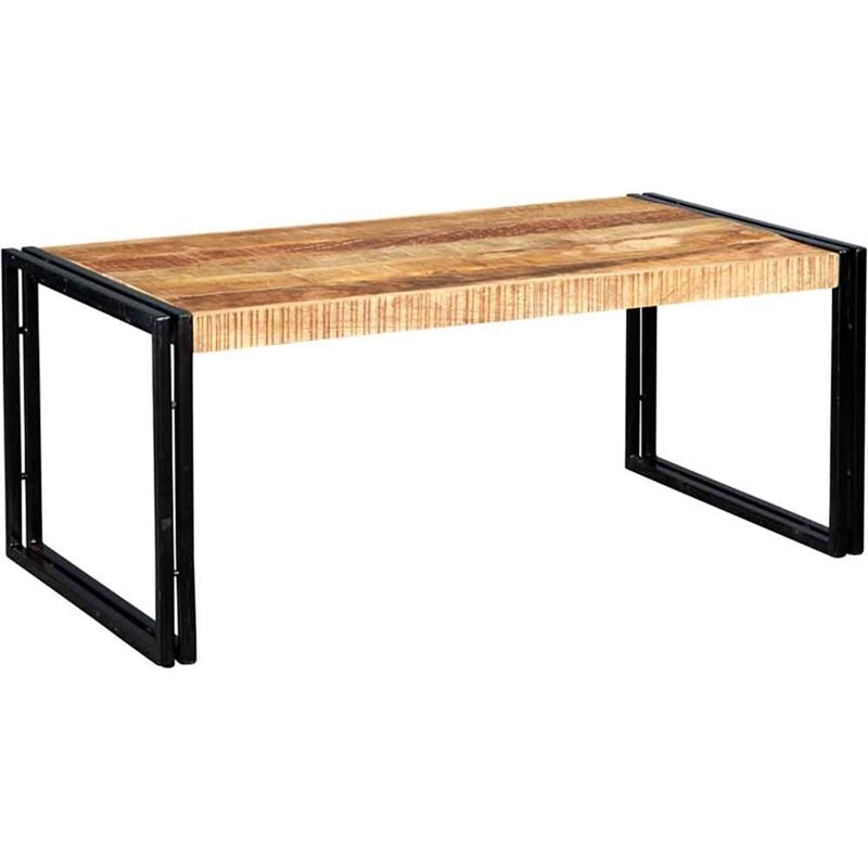 Cosmo Industrial Large Coffee Table | Furniture Supplies UK