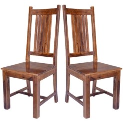 Cube Jaipur Dining Chair Solid Seat x1   Furniture Supplies UK