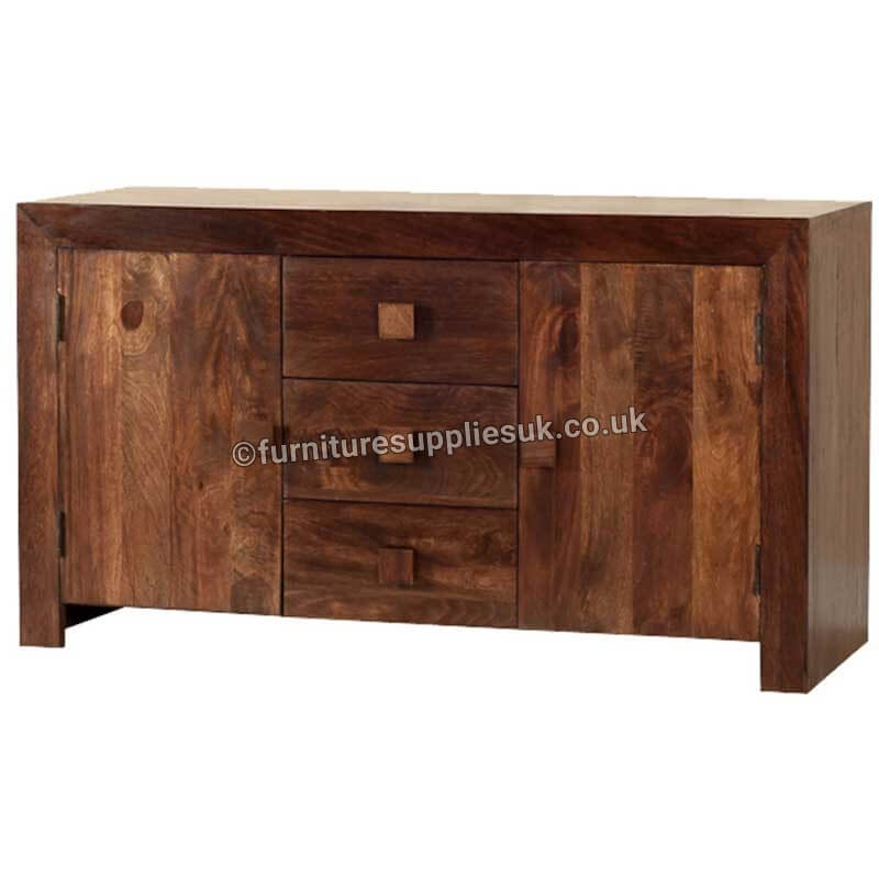 Dakota 2 Door 3 Drawer Sideboard | Solid Wood |