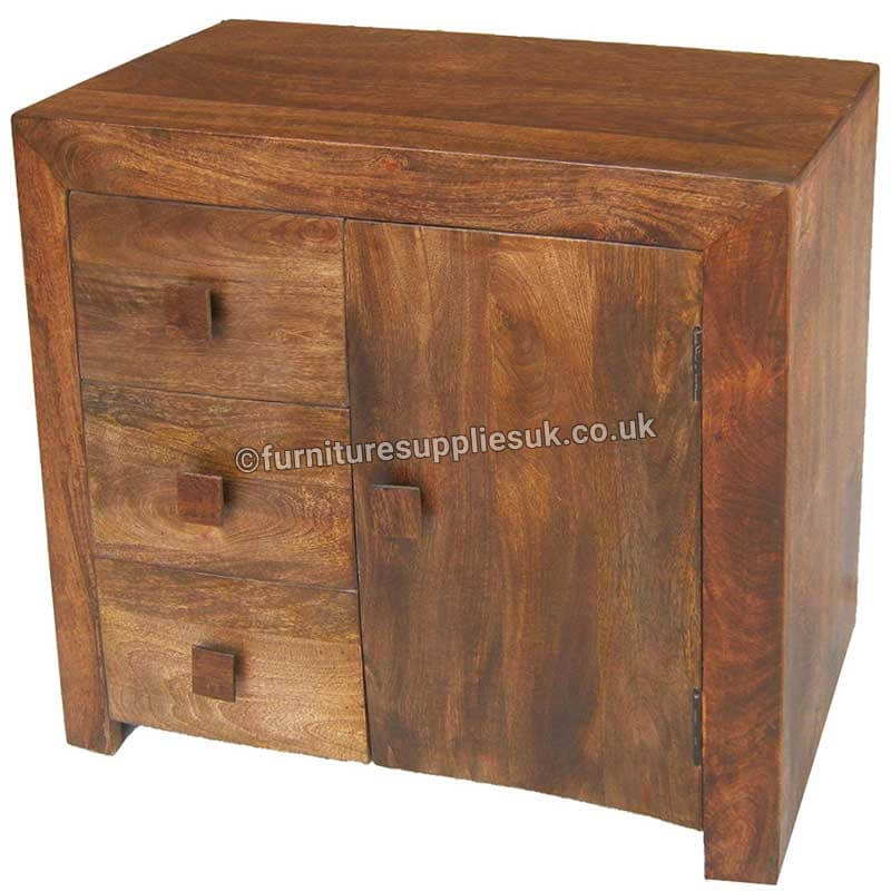 Dakota 3 Drawer Sideboard | Furniture Supplies UK