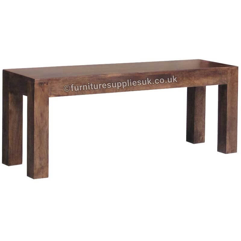 Dakota Bench Large | Solid Wood |