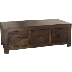 Dakota Coffee Table 6 Drawer | Furniture Supplies UK