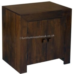 Dakota Dark Mango 2 Door Sideboard | Furniture Supplies UK
