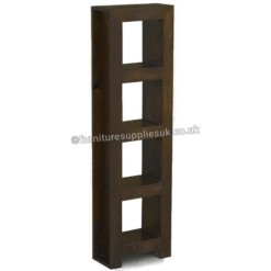 Dakota Dark Mango 4 Hole DVD Storage | Furniture Supplies UK
