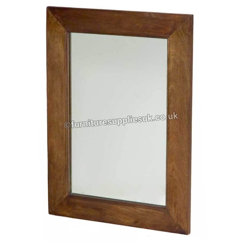 Dakota Mirror Mango Wood   Solid Wood  