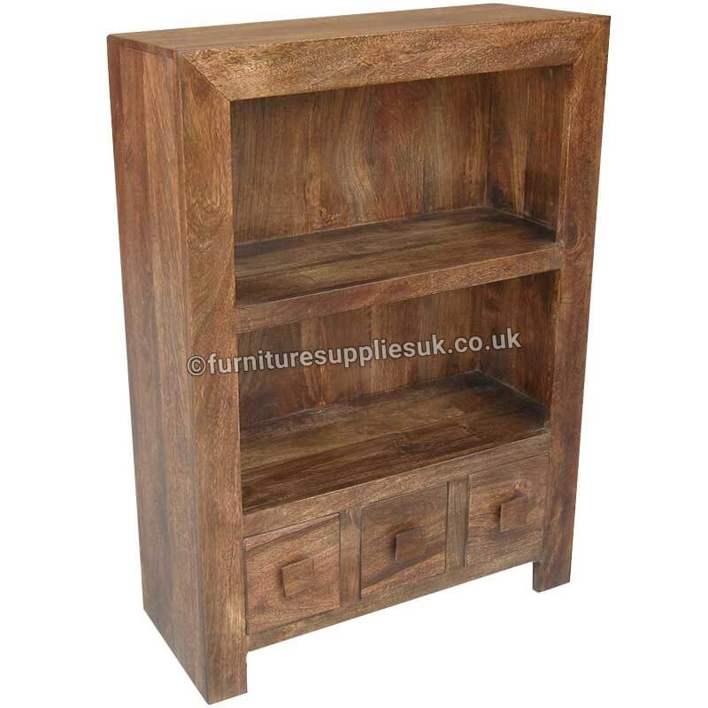 Dakota Small Bookcase | Solid Wood |