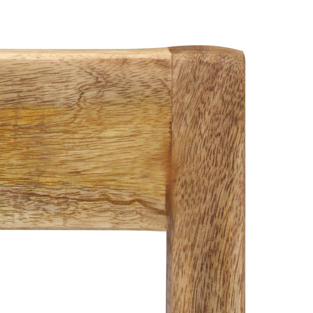 Dining Chairs 2 pcs Solid Mango Wood