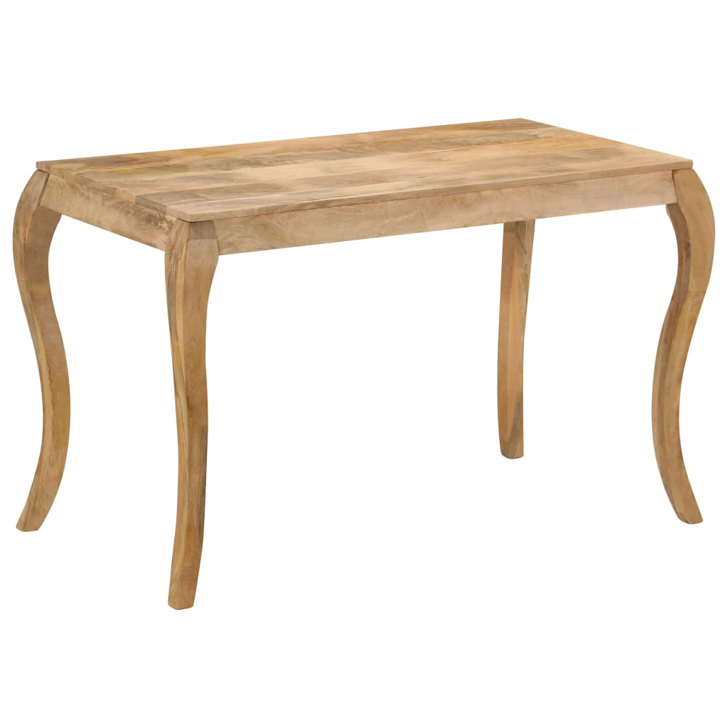 Dining Table 118x60x76 cm Solid Mango Wood | Furniture Supplies UK