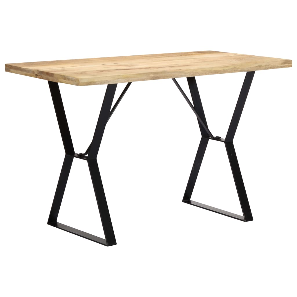 Dining Table 120x60x76 cm Solid Mango Wood | Furniture Supplies UK
