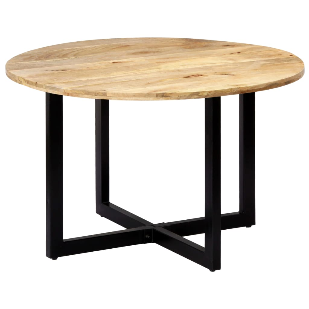Dining Table 120x73 cm Solid Mango Wood
