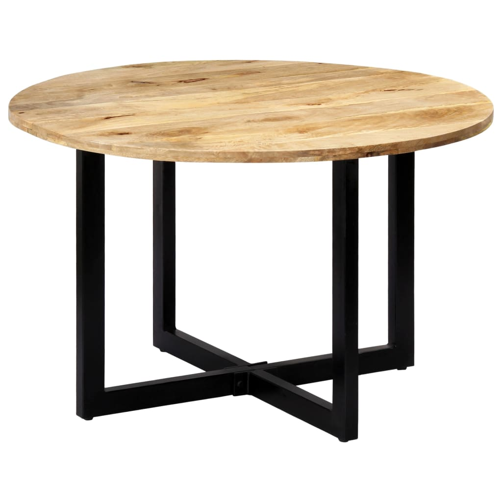 Dining Table 120x73 cm Solid Mango Wood | Furniture Supplies UK