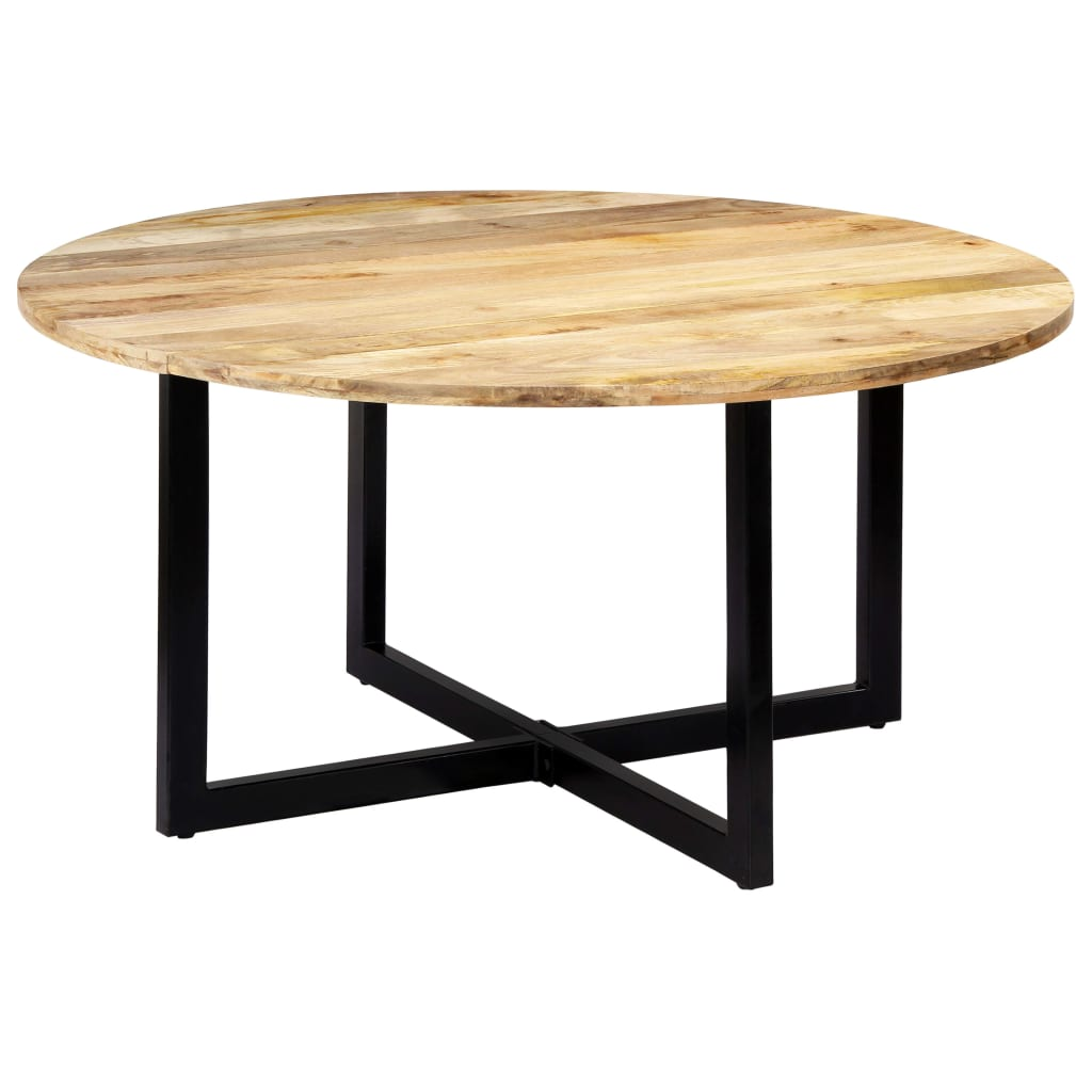 Dining Table 150x73 cm Solid Mango Wood | Furniture Supplies UK