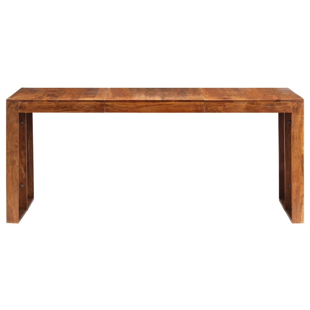 Dining Table 180x90x75 cm Solid Acacia Wood |  | Brown
