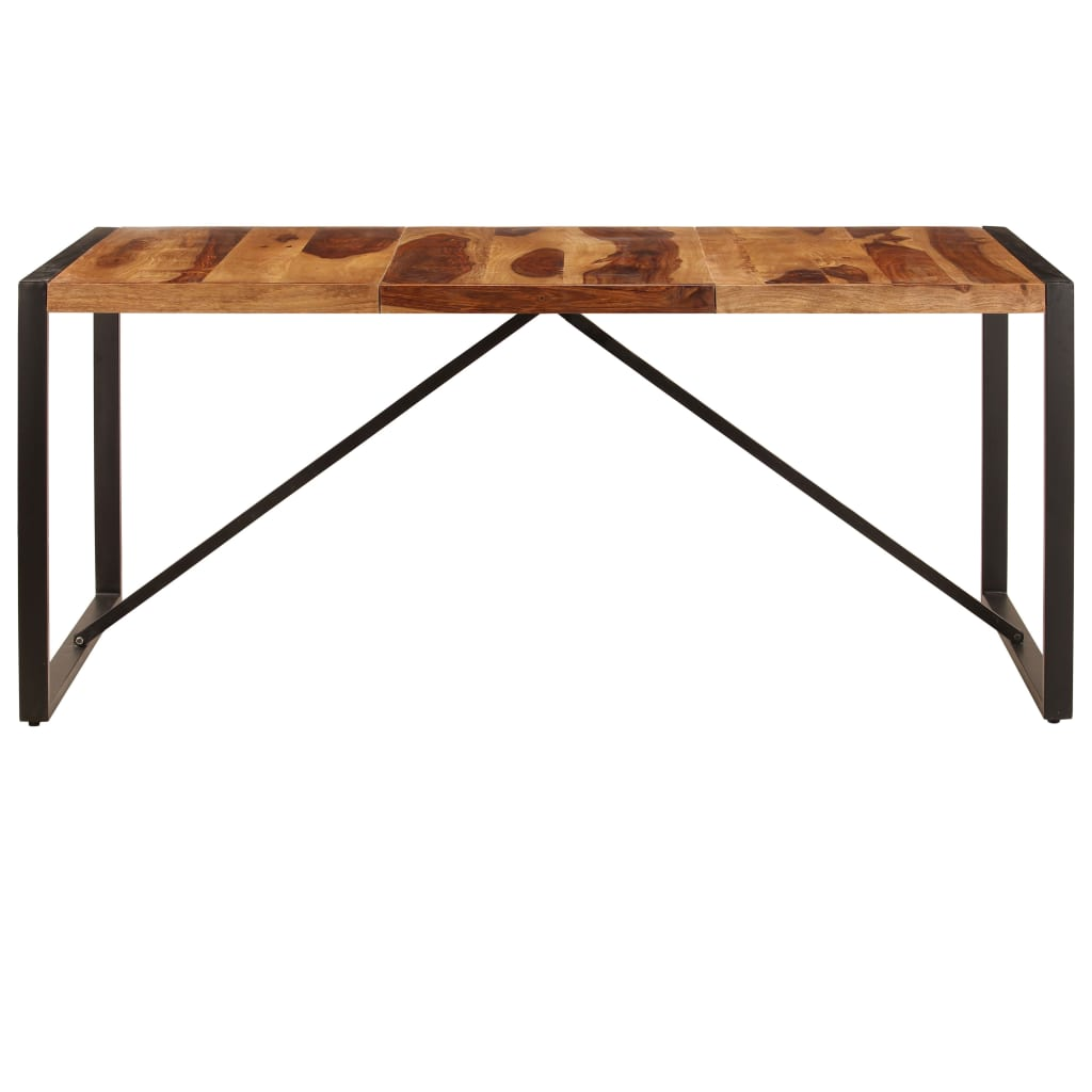 Dining Table 180x90x75 cm Solid Sheesham Wood |  | Brown