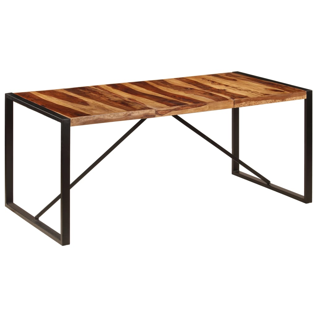 Dining Table 180x90x75 cm Solid Sheesham Wood | Furniture Supplies UK