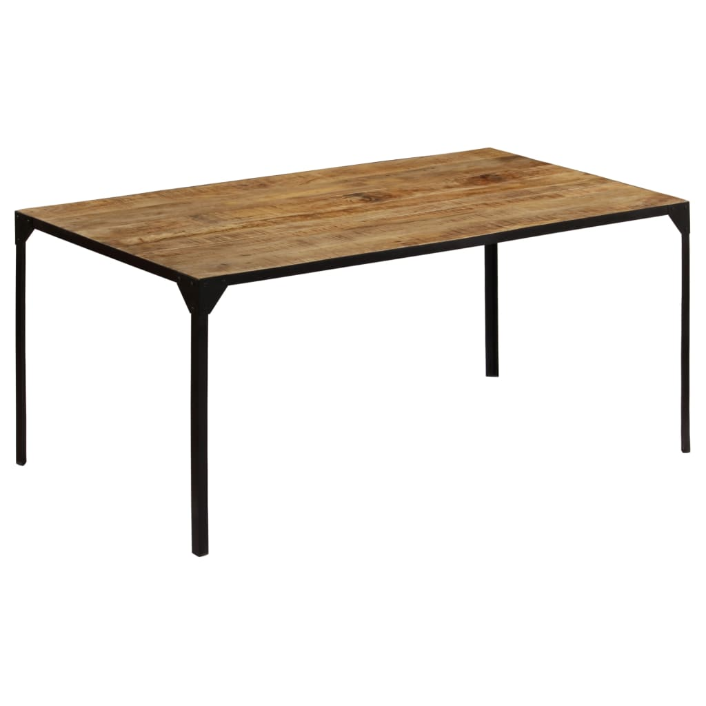 Dining Table 180x90x76 cm Solid Mango Wood | Furniture Supplies UK