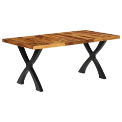 Dining Table 180x90x76 cm Solid Sheesham Wood | Furniture Supplies UK