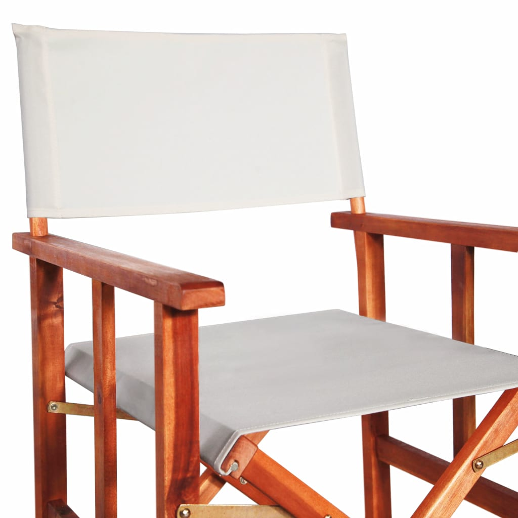 Director's Chair Solid Acacia Wood