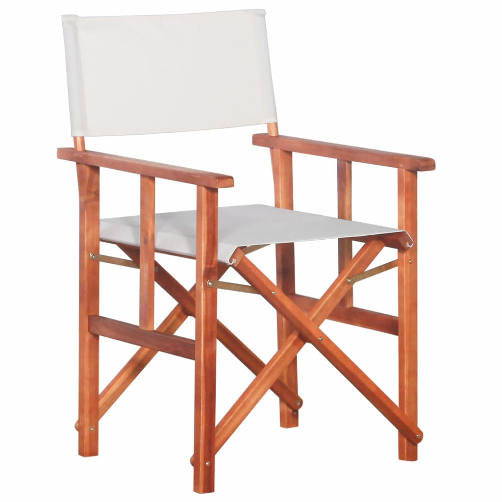 Director's Chair Solid Acacia Wood | Furniture Supplies UK
