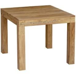 Divine Sheesham Square Dining Table 90cm | Furniture Supplies UK