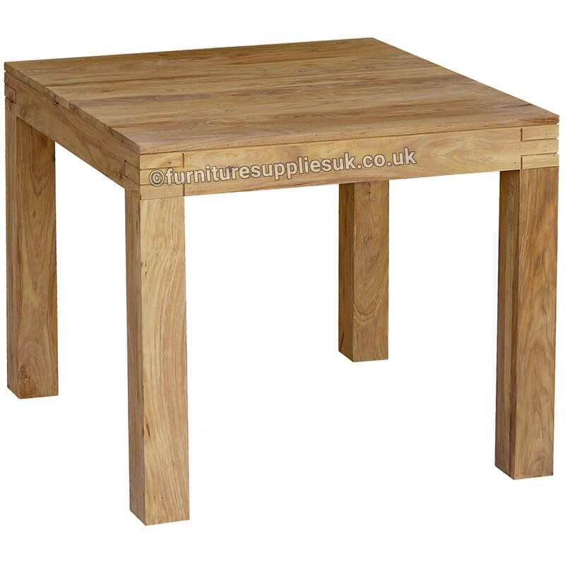 Dining Table   Dimensions 90D X 90W X 76H