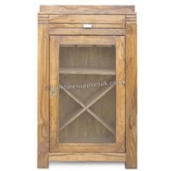 Divine Sheesham Wine Rack & Drinks Cabinet | Furniture Supplies UK