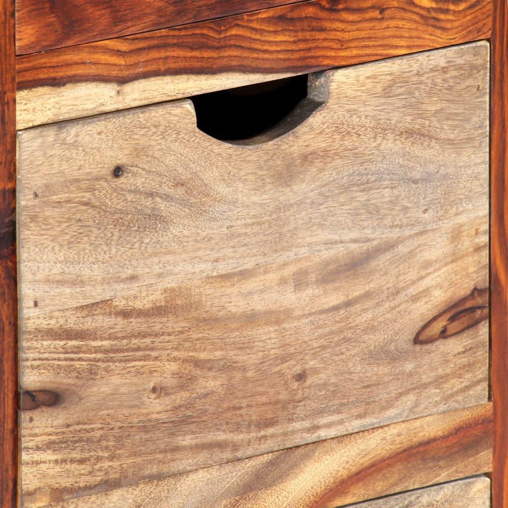 Drawer Cabinet 40x30x100 cm Solid Sheesham Wood |  | Grey