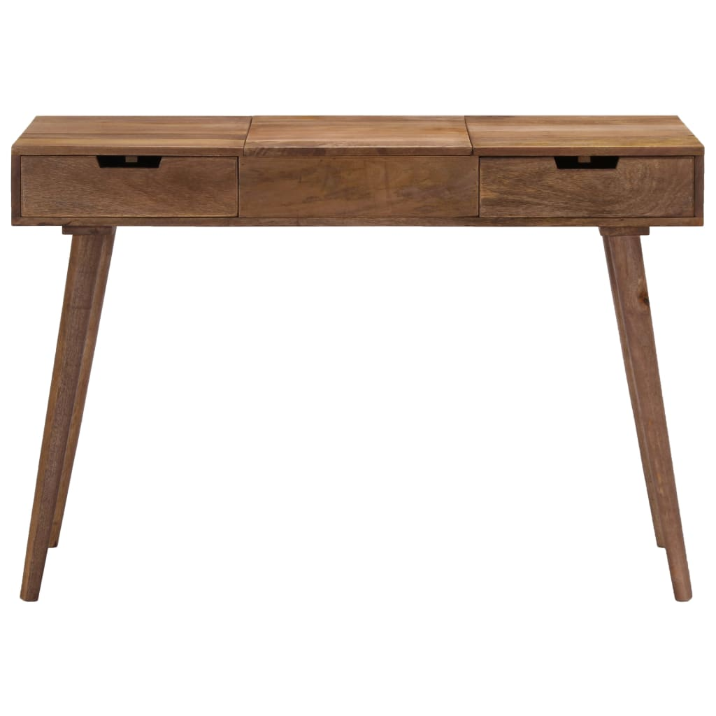 Dressing Table 112x45x76 cm Solid Mango Wood |  | Brown