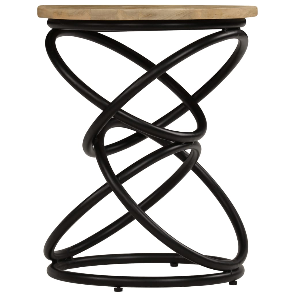 End Table Solid Mango Wood 40x50 cm |  | Brown