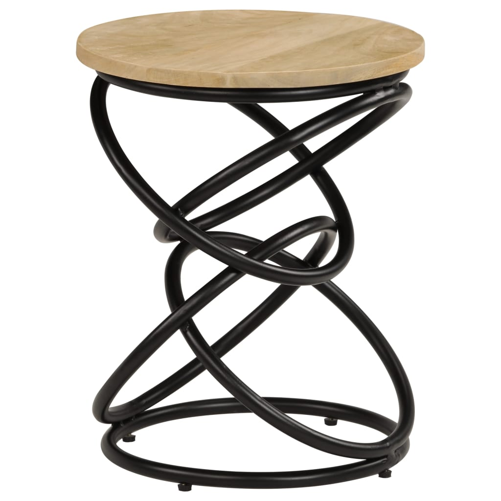 End Table Solid Mango Wood 40x50 cm | Furniture Supplies UK