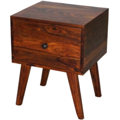 Ganga 1 Drawer Side Table Hb | Furniture Supplies UK