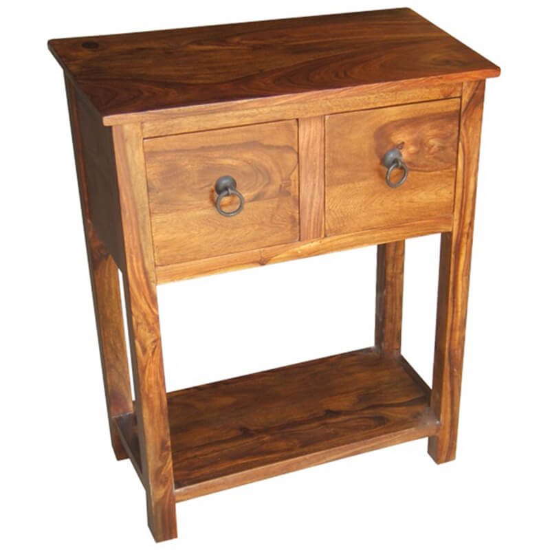 Ganga 2 Drawer Console Table | Furniture Supplies UK