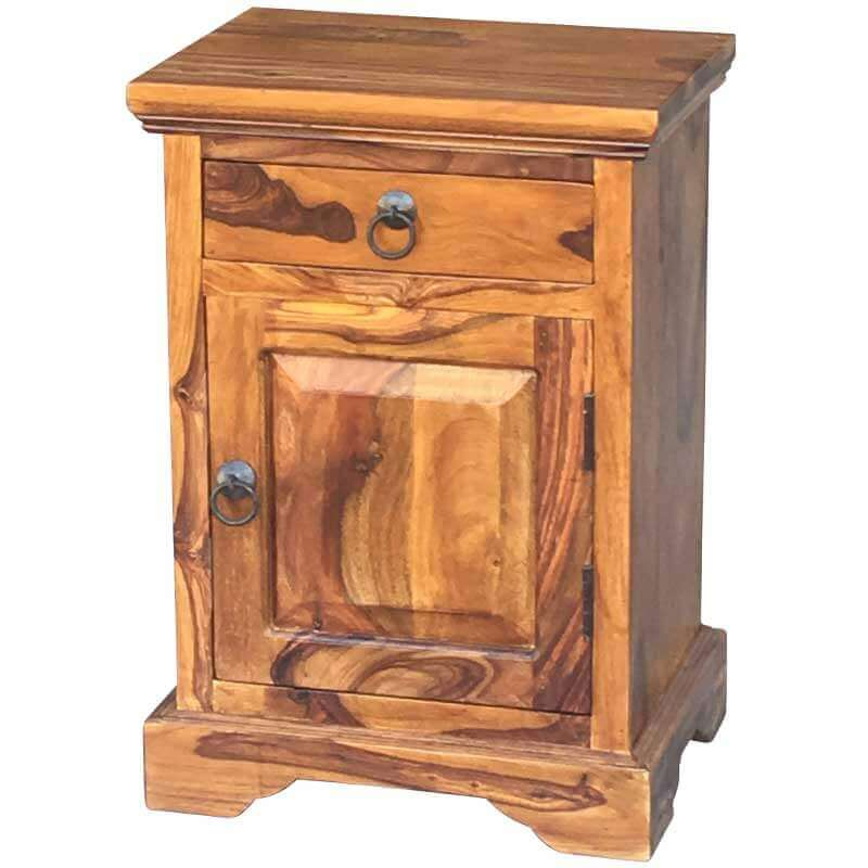 Ganga Bedside Table Right   Furniture Supplies UK