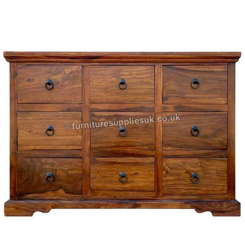 Sheesham Wood | Chest Of Drawers|Sideboard | TOY-24