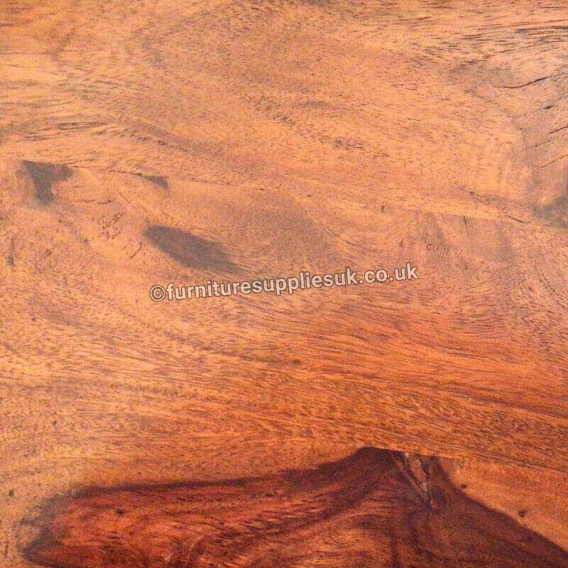 Ganga Range Jali Small Dining Table Without Chairs | Rosewood |