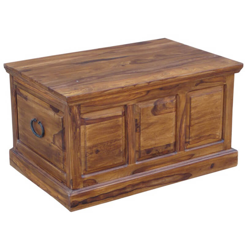 Ganga Range Large Jali Trunk Chest Ottoman Box | Furniture Supplies UK