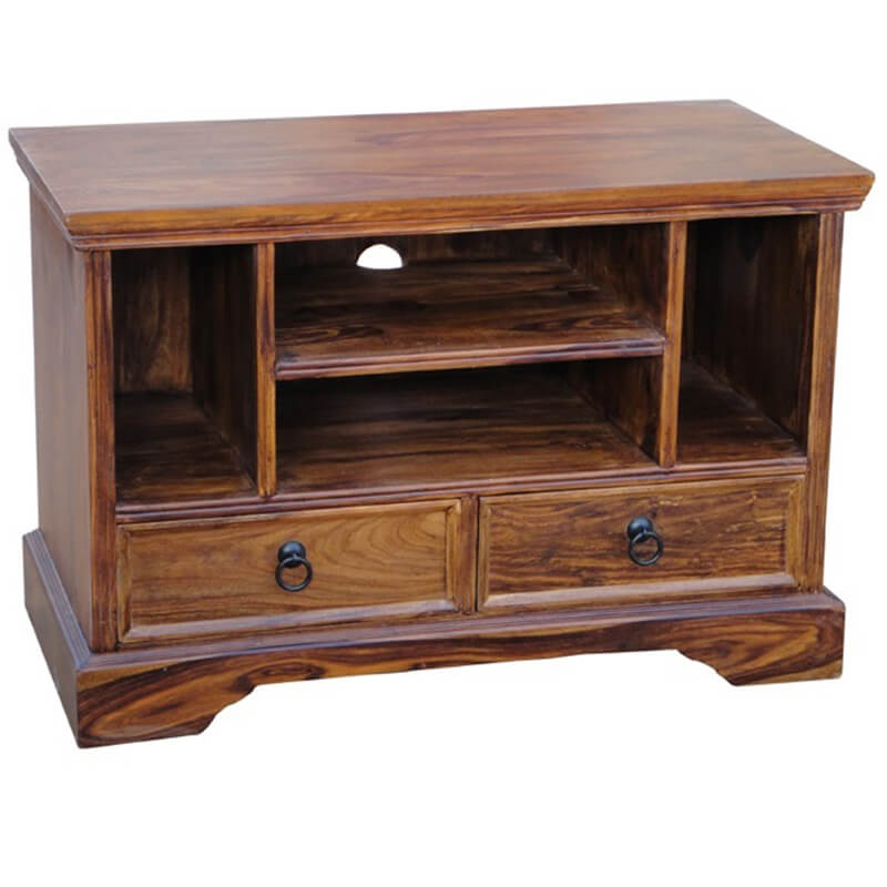 Ganga Range Small Jali TV Unit | Furniture Supplies UK