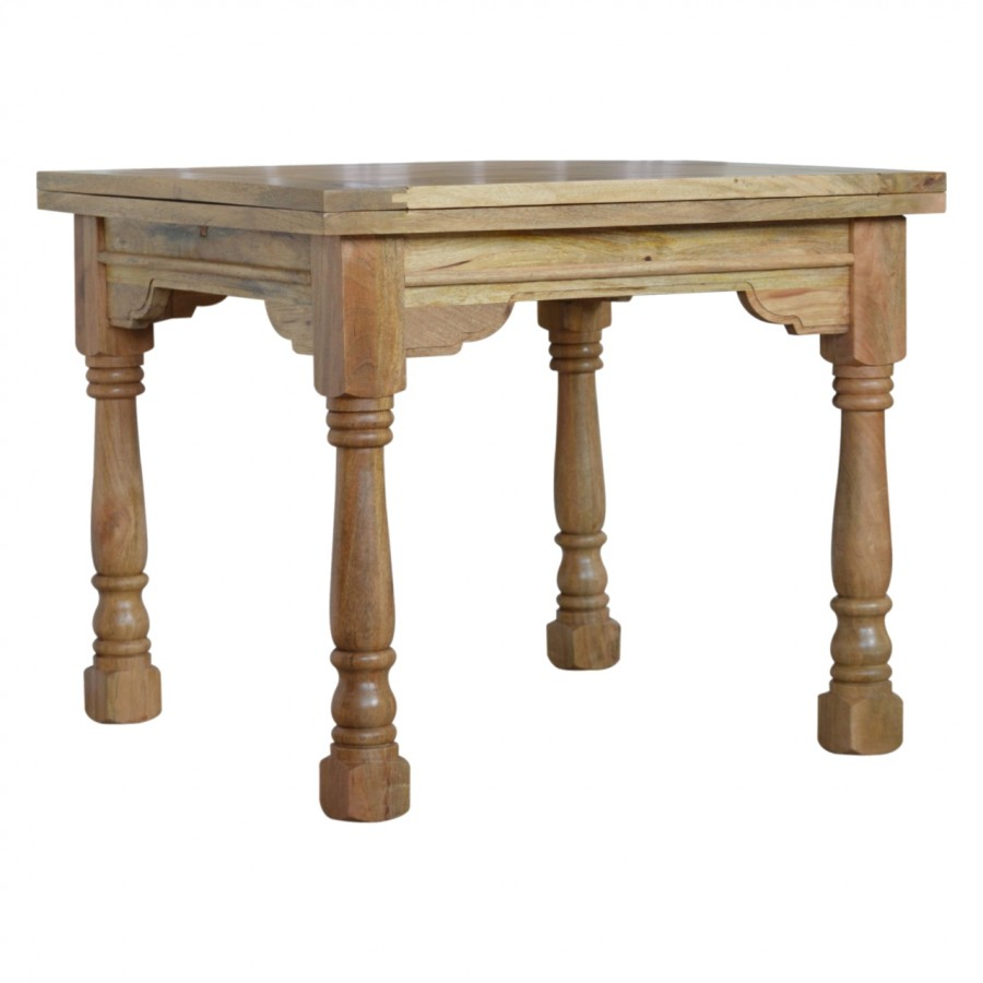 Granary Royale Butterfly Dining Table and 4 Chairs (Leather Seat) |  |