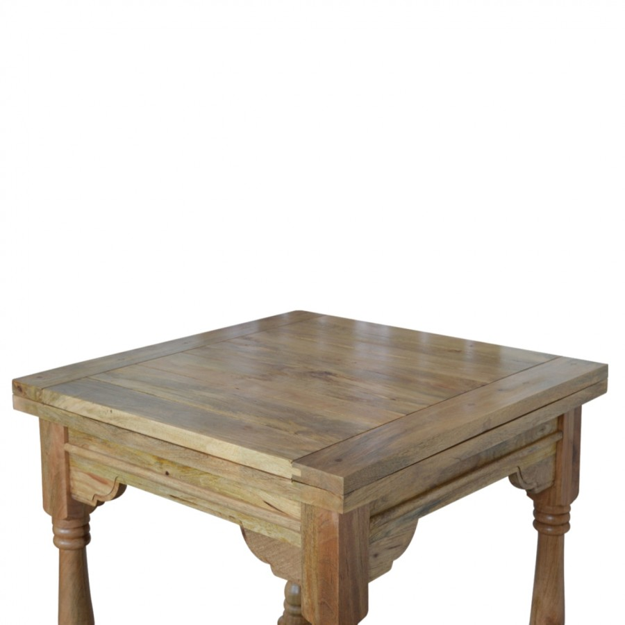 Granary Royale Butterfly Dining Table and 4 Chairs (Leather Seat)