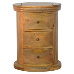 Granary Royale Mango 3 Drawer Drum | Furniture Supplies UK