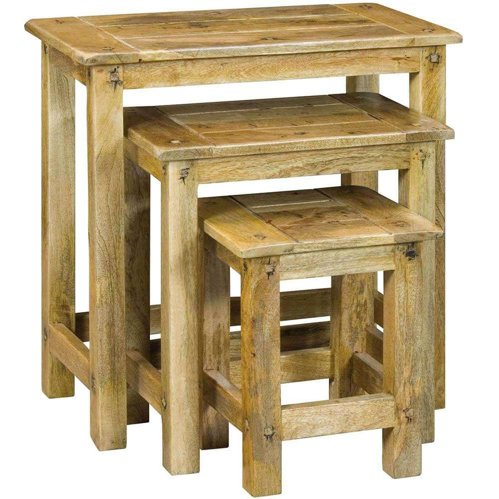 Granary Royale Mango Nest Of Tables | Furniture Supplies UK