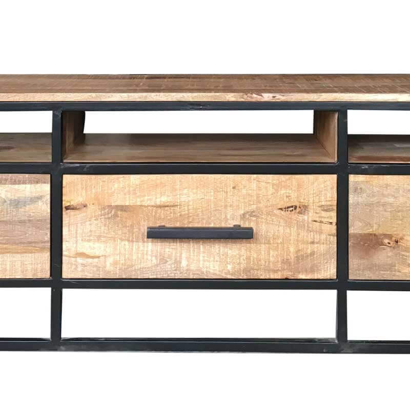 Mango Wood|Metal | TV Stand | IND-719