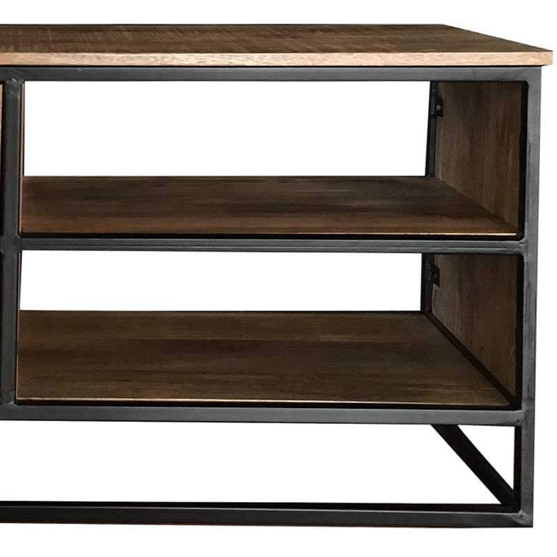 Mango Wood|Metal | TV Stand | IND-701