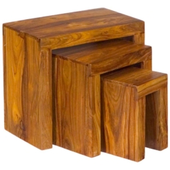 Jaipur Cube Nested Tables   Furniture Supplies UK