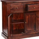 Jaipur Dark Mango Large Sideboard | Solid Wood |