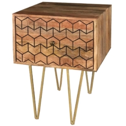 Jaipur Nive Mango Lamp Table | Furniture Supplies UK