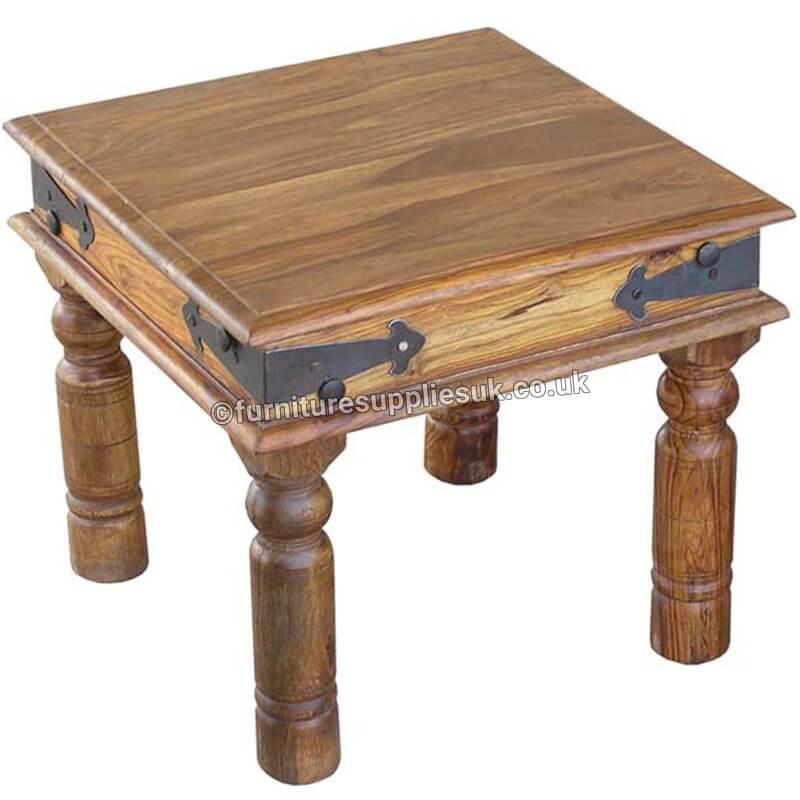 Jali Lamp Table 45x45cm   Furniture Supplies UK