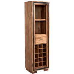 Jodhpur Sheesham Wine Bookcase | Furniture Supplies UK