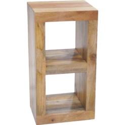 Light Dakota 2 Hole Lamp Table & Display Unit | Furniture Supplies UK