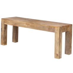 Light Dakota Bench Large | Furniture Supplies UK